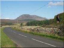 NR8935 : Beinn Bharrain and Mullach Buidhe by Val Vannet