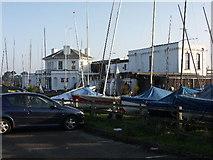 SZ3394 : Lymington Town Sailing Club, Lymington, Hants by Rosemary Nelson