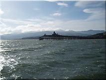 SH5873 : Bangor Pier Menai Straits by Ian Warburton