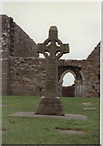 N0030 : South Cross, Clonmacnois, Co. Offaly, Ireland by Rosemary Nelson