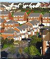 SX8661 : 1990's housing development by Crispin Purdye