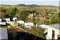 SX8560 : Blagdon Barton Caravan Park and Farm by Crispin Purdye