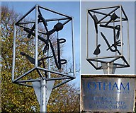 TQ7953 : Village sign, Otham by Penny Mayes