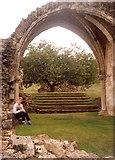 SE7365 : Arch at Kirkham Priory by Humphrey Bolton