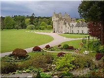 NJ1736 : Ballindalloch Castle from the Water Garden by Ian Sharp