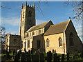TF0733 : Saint Andrew's Church, Folkingham. by Bob Danylec