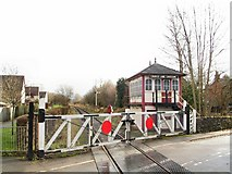 SK2663 : Church Lane Crossing by Roger May