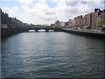 O1534 : River Liffey, Dublin by Ron Goodhew