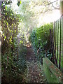 TL0249 : Footpath at the back of Biddenham by Oliver White
