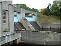 NN9357 : Pitlochry Dam by Peter Hodge