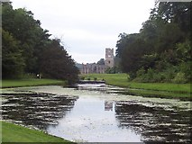 SE2768 : Fountains Abbey by Chris Heaton