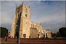 SK8065 : All Saints' church, Sutton on Trent by Richard Croft