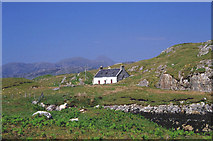 NG2195 : Cottage on Scalpay by Peter Ward