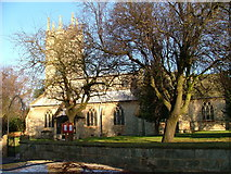 SK7288 : St Peters Church Clayworth Notts by B Hilton