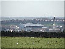 SE2831 : Elland road football ground. by Steve Partridge