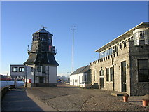 NJ9505 : Harbour Master's Station and Silver Darling Restaurant by Richard Slessor