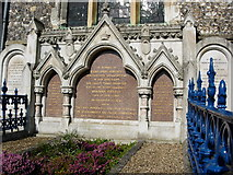 SU8695 : Disraeli tomb, Hughenden Church by Stephen Daglish