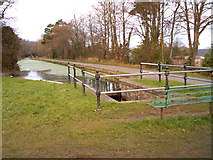 ST2896 : Top of 5 Locks Monmouth and Brecon Canal by nantcoly