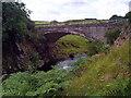 NT8906 : Road bridge at Linbriggs, Northumberland by Chris Tweedy