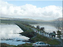 C3322 : Causeway over to Inch Island, Inishowen by Oliver Dixon