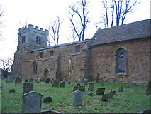 SP3453 : All Saints', Chadshunt by David Stowell