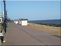 TM3034 : Beach Huts - Felixstowe by Rob Taylor