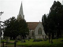 SU1826 : St Mary's Church Alderbury by Jim Goldsmith