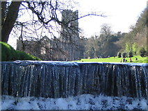 SE2768 : Fountains Abbey by Angela Tuff