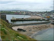 SC2484 : Peel Beach from beside the Castle by Nigel Homer