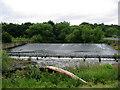 NZ1961 : Weir on the River Derwent by Chris Tweedy