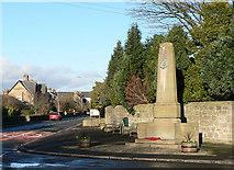 NZ2289 : Longhirst War Memorial by Chris Tweedy