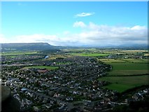 NS8095 : Viewing West from atop the Wallace Monument by Chuck Schubert