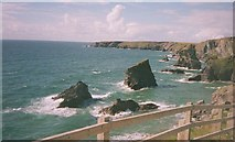 SW8469 : Bedruthan Steps by Rob Taylor
