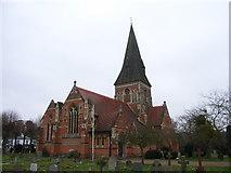 SU9567 : Holy Trinity Church, Sunningdale by Andrew Smith
