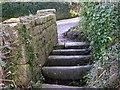 SW5531 : A Stone Cattle Grid by Tony Atkin