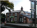 SJ4565 : The Plough Inn, Brown Heath. by Stephen Charles
