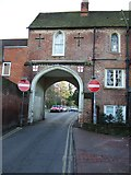 TQ1649 : Arch Leading to Rose Hill by Martyn Davies