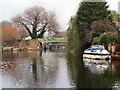 TL3706 : Bridge over The River Lea at Nazeing by Melvyn Cousins