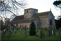 NY4826 : St Michael's Church Barton by Bob Jenkins