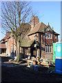 SJ4892 : Clubhouse, Eccleston Park golf club, Rainhill by Sue Adair