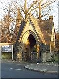 SE2837 : Lych Gate, Holy Trinity Church, Meanwood, Leeds by Rich Tea