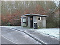 NZ1881 : Bus Shelter by Christine Westerback