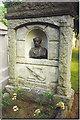 NJ9304 : James Scott Skinner Gravestone, Allanvale Cemetery. by Colin Smith