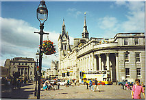 NJ9406 : Plainstanes on the Castlegate. by Colin Smith