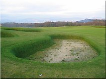 NS3586 : Nascent golf course. by Richard Webb