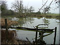 TL2026 : Pond at Redcoats Farm by Robin Hall