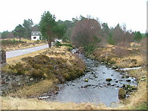 NN6390 : Allt Breakachy and Halfway House by Dave Fergusson