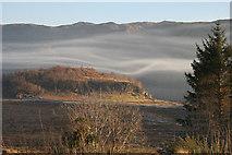NG8938 : Slumbay island with mist by Alan Talbot