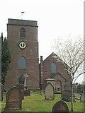 SJ6926 : St. Oswald, Hinstock by Geoff Pick
