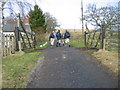 NY7786 : Thorneyburn level Crossing (next to station) by Les Hull